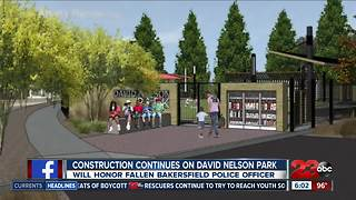 Construction Continues on David Nelson Park