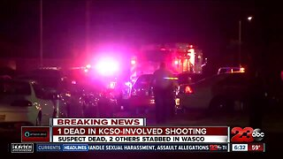 2 stabbing victims in KCSO-involved shooting