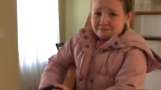 These Are Times A Little Girl Feels Too Beautiful - Video