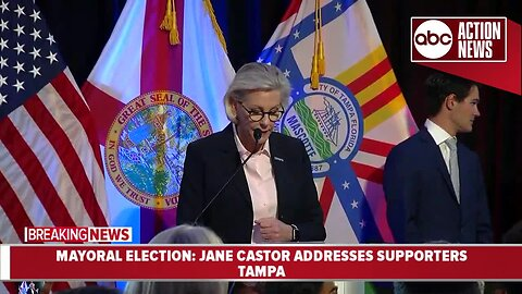 Jane Castor claims victory in race for Tampa mayor
