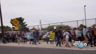 Palo Verde High School walkout March 14 - Video