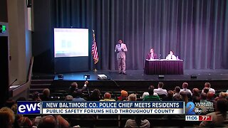 New Baltimore County Police Chief meets with residents