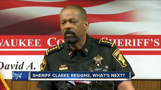 Sheriff Clarke resigns, what's next? - Video