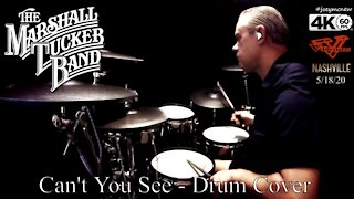 "Solo drum cover of ""Can't You See"" by The Marshall Tucker Band"