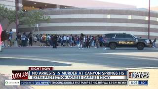 Parents and students worried after murder at Canyon Springs High School