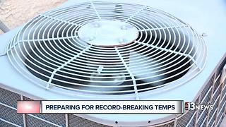 How to protect your AC in scorching heat - Video