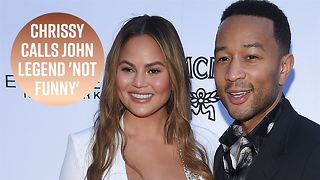 Chrissy Teigen shades John Legend on Father's Day - Video