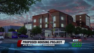 City Council hears concerns about proposed 4th Ave. housing project - Video