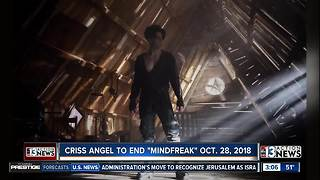 'Mindfreak Live!' is ending October 2018 - Video