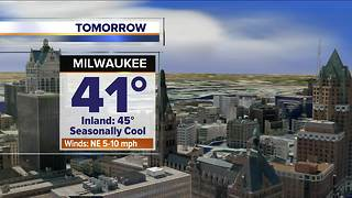 Mostly sunny and mild Friday - Video