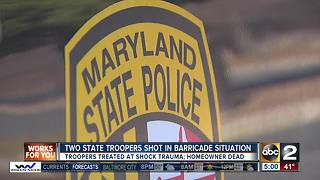 TWO STATE TROOPERS SHOT - Video