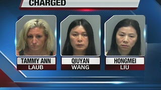 Estero massage parlor prostitution bust - Video