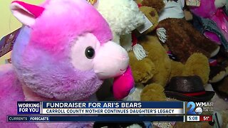 Mother keeps daughter's 'Ari's Bears' legacy alive