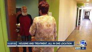 Inside the Sanderson Apartments, a new option for those facing homeless in Denver - Video