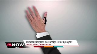 Wisconsin company implants microchips into employees