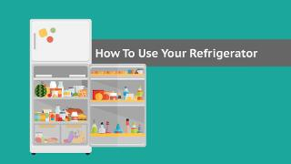 How to Use Your Refrigerator - Video