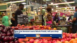 Amazon takes over Whole Foods, drops prices