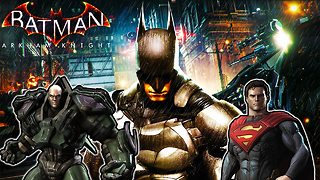 Batman: Arkham Knight - Easter Eggs for DC Universe - Video