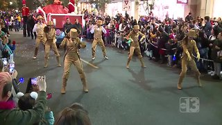 A look at Downtown Summerlin's holiday parade - Video