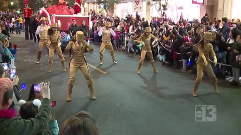 A look at Downtown Summerlin's holiday parade
