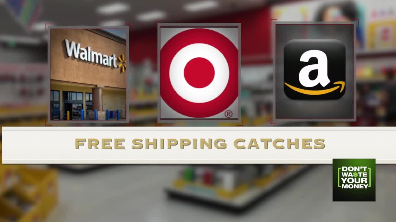 Free Shipping can come with Catches