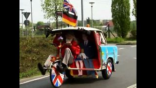 Didi Senft's Royal Rickshaw - Video