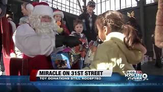 In a few days thousands of children will be lined up to receive their Christmas gifts - Video