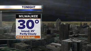 Cloudy and cool Thursday night - Video