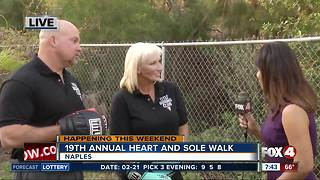 19th annual Heart and Sole Walk in Naples - Video