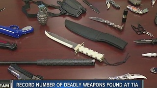 I-Team: Record amount of guns found at Tampa International Airport - Video