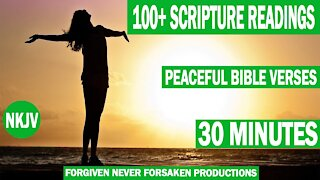 Scriptures For Peace And Calm, 30 Minutes Of Peaceful Bible Verses For Sleeping.