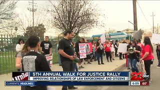 5th annual Walk For Justice rally