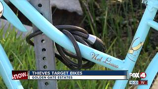 Bikes swiped from Golden Gate Estates Neighborhood - Video
