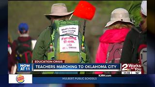 Day 2 March for Education - Video