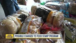 Possible changes to food stamp program - Video