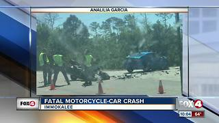 Fatal Motorcycle Crash - Video