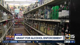 Tempe police working to stop drunk drivers