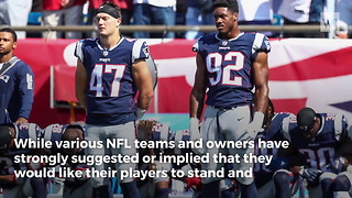 First NFL team owner agrees with Trump, says all players must stand for anthem in 2018 - Video