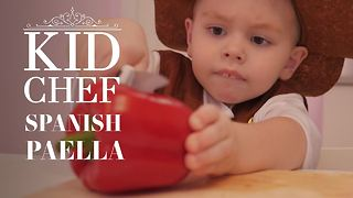 Kid Chef: How (not) to make Spanish Paella - Video