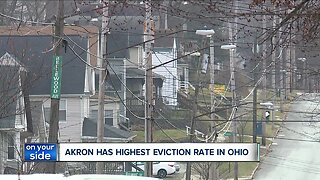 Akron facing highest eviction rate in Ohio