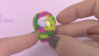 Miniature Easter basket DIY with tiny painted Easter eggs - Video