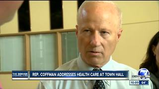 Rep. Coffman grilled on Obamacare replacement at town hall, talks VA wait times in interview - Video