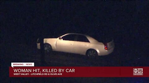 MCSO: Pedestrian hit, killed at Litchfield Road and Olive Avenue