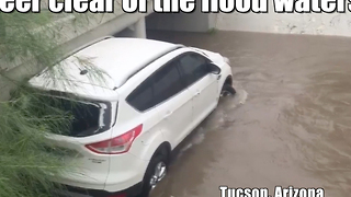 Hurricane Newton floods the Southwest - Video