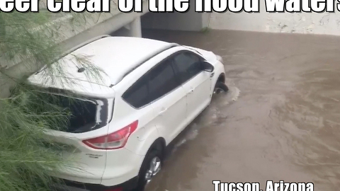 Hurricane Newton floods the Southwest