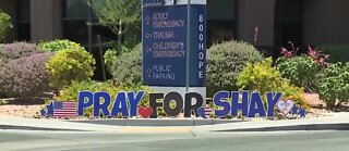 Pray for Officer Shay parade in Las Vegas