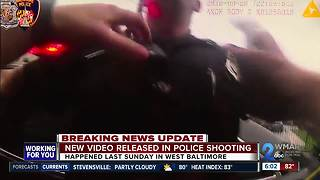 Baltimore police release new video following police-involved shooting
