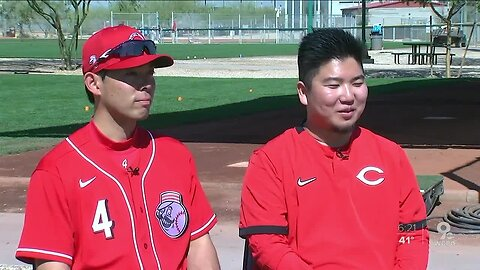 'Everyone knows him in Japan:' Akiyama makes his Goodyear debut