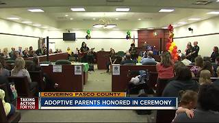 Pasco County recognizes the importance of adoptions - Video