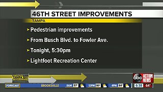 Pedestrian improvements could be coming to 46th Street in Tampa